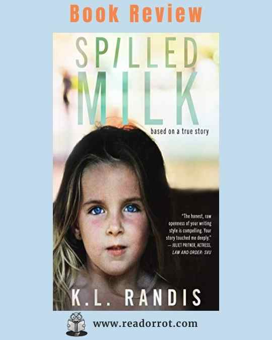 Book Cover Spilled Milk by KL Randis
