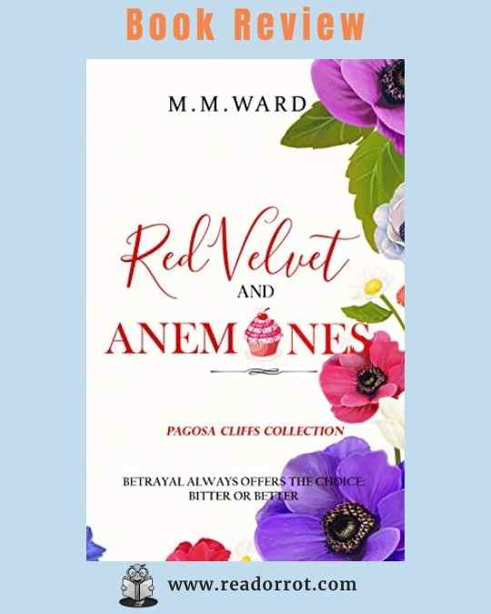 Book Cover Red Velvet and Anemones by MM Ward