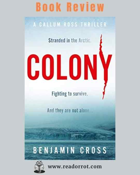 Book Cover Colony by Benjamin Cross