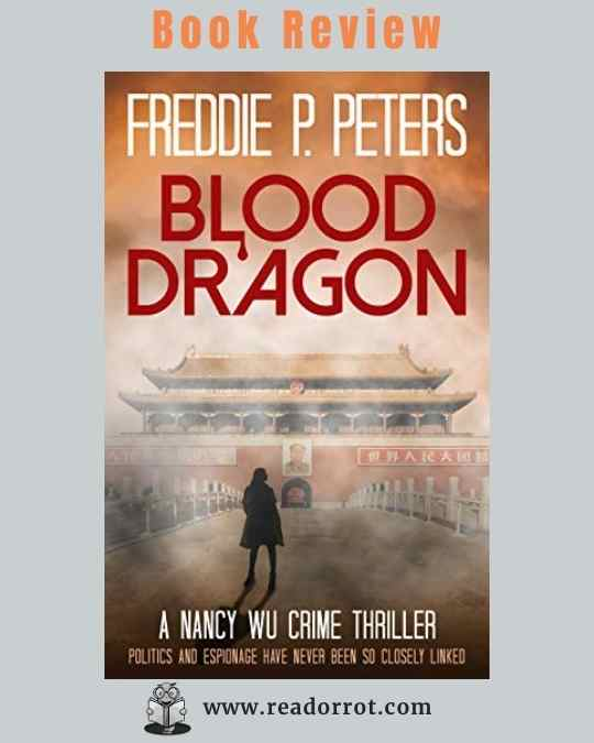 Book Cover Blood Dragon by Freddie P. Peters