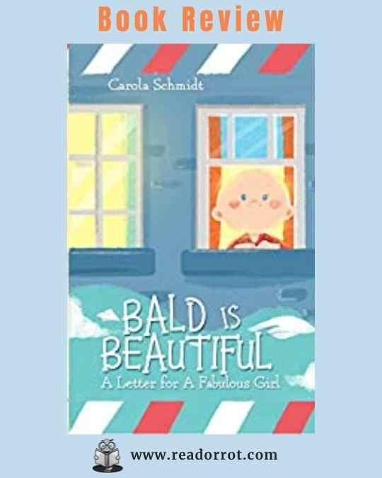 Book cover Bald is Beautiful by Carola Schmidt