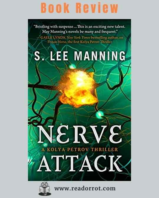 Book Cover Nerve Attack by S. Lee Manning.