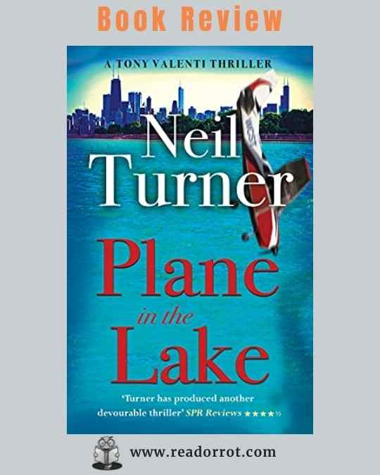 Book Cover Plane in the Lake by Neil Turner